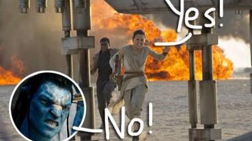 《星際大戰:原力甦醒》成功超越《阿凡達》 榮升北美影史票房紀錄冠軍!