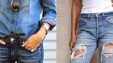不要小看牛仔褲口袋邊的鉚釘,它可是有重要功能!