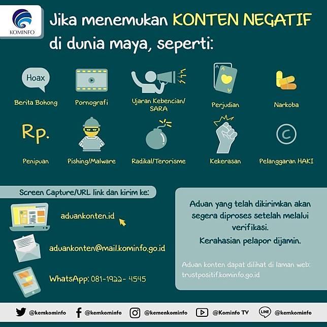 Polda Metro Jaya Sebar Info Tata Cara Laporkan Hoaks Ujaran