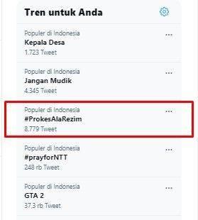 Viral ide pasang foto Jokowi agar hajatan tidak dibubarkan Satgas COVID-19 karena dituduh melanggar protokol kesehatan.