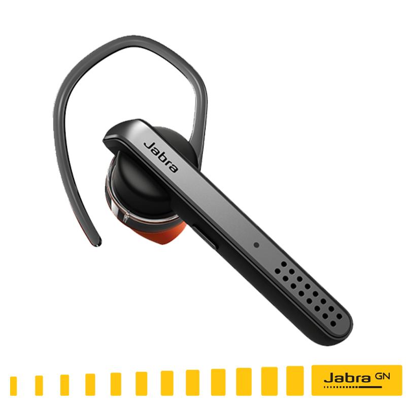 強大的消噪功能 利用先進的 jabra 消噪技術隔絕噪音干擾即使在吵雜環境下也能 享有無噪音的通話體驗 3. 持久長效的通話 talk 45 提供最長 6 小時通話及 8 天待機時間只要充一次電就能