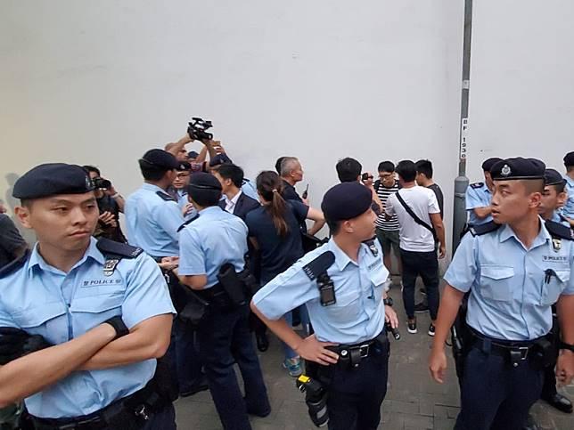 警方被指去信威嚇傳媒機構。資料圖片