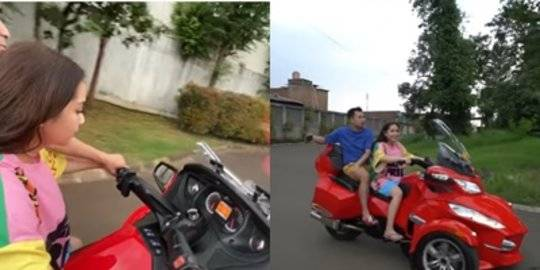 Nagita Minta Beli Motor. Youtube/Rans Entertainment ©2020 Merdeka.com