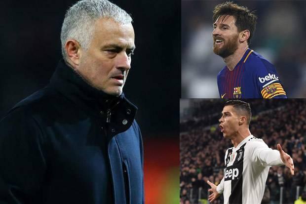 Mourinho: Tidak Adil Bandingkan Ronaldo dan Messi