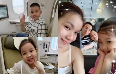 Bẵng đi một thời gian, con của Hoa hậu Hoàn vũ Việt Nam đầu tiên giờ đã điển trai, xinh gái thế này!