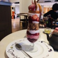 パフェオフレーズ - 実際訪問したユーザーが直接撮影して投稿した新宿スイーツSALON BAKE & TEA(サロン ベイク アンド ティー)NEWoMan新宿店の写真のメニュー情報