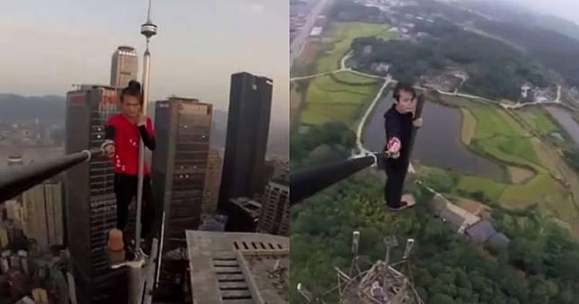 Sebelum meninggal, ini 5 selfie ekstrem yang pernah dilakukan Yongning