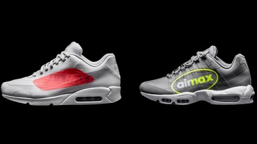 巨型標誌超醒目 / Nike Air Max 90 and 95 NS GPX 'Big Logo' 系列