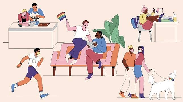 透過這次合作,Apple與Nike會為一眾LGBTQ團體提供支援,協助他們在全球完成各種倡導工作。(互聯網)