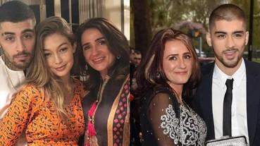 情侶合體!贊恩與吉吉哈蒂德一起慶祝穆斯林開齋節 混血兒媽媽令人驚呼「臉蛋也好美」!