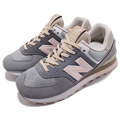 品牌: NEW BALANCE型號: ML574BSGD品名: ML574BSG D配色: 灰色 粉紅色特點: 紐巴倫 復古 情侶鞋 麂皮 低筒 球鞋穿搭 灰 粉