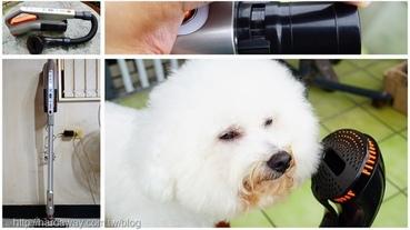 【開箱】配備寵物專用刷頭Haier海爾10in1寵物吸塵器,家中清潔與毛小孩毛髮整理一機搞定