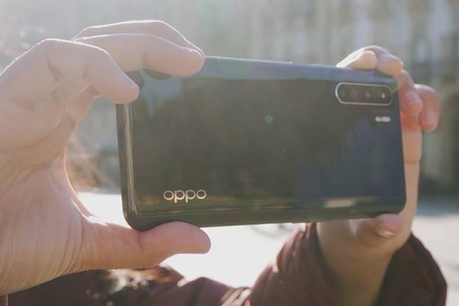 Oppo Reno3(Kompas.com/Lulu C Mahendra)