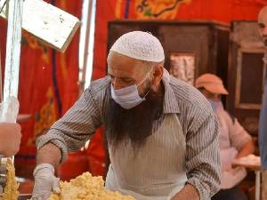 Di Kota Gurun di Yordania Selalu Ada Makanan Gratis Ramadan
