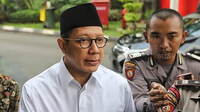 Mantan Menteri Agama Lukman Hakim Saifuddin. [Suara.com/Muhaimin A Untung]