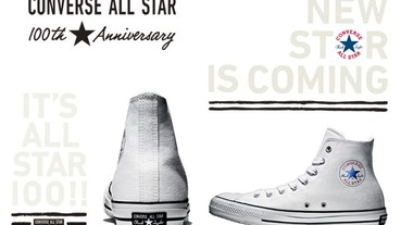 新聞分享 / 100 年後的蛻變 Converse Chuck Taylor All Star 100