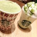T抹茶クリームフラペチーノ - 実際訪問したユーザーが直接撮影して投稿した新宿カフェスターバックスコーヒー ルミネエスト新宿店の写真のメニュー情報