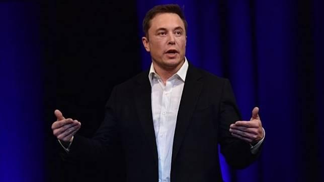 Pengusaha dan inovator terkemuka AS, Elon Musk. [AFP/Peter Parks]
