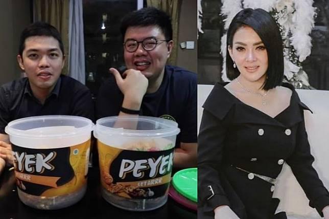 review YouTuber Anak Kuliner usai mencicipi peyek cetar Syahrini seharga Rp 200 ribu setoples