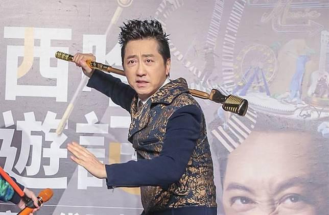 庾澄慶日前出席奇幻音樂喜劇《西哈遊記-魔二代再起》記者會。(圖/本報系資料照片)