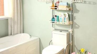 浴室大改造!善用浴室收納用品,小坪數也能媲美五星級飯店