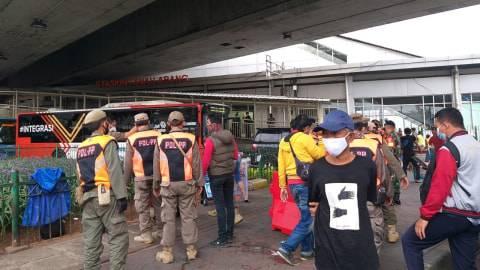 Baiknya Tak ke Pasar Tanah Abang 8-9 Mei ini, TNI-Polri-Satpol PP Jaga Ketat