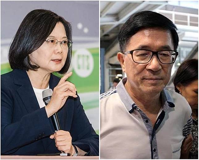 陳水扁批蔡英文太多政治考量。網上圖片