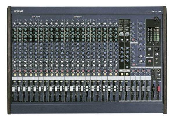 舞台音響 YAMAHA 功率混音器 MG24/14FS混音機.廣播主機. 舞台擴大機
