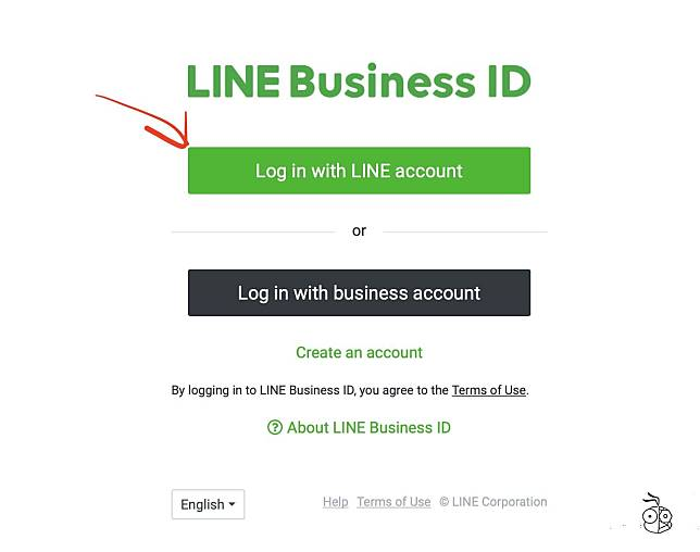 Line Official Account Login