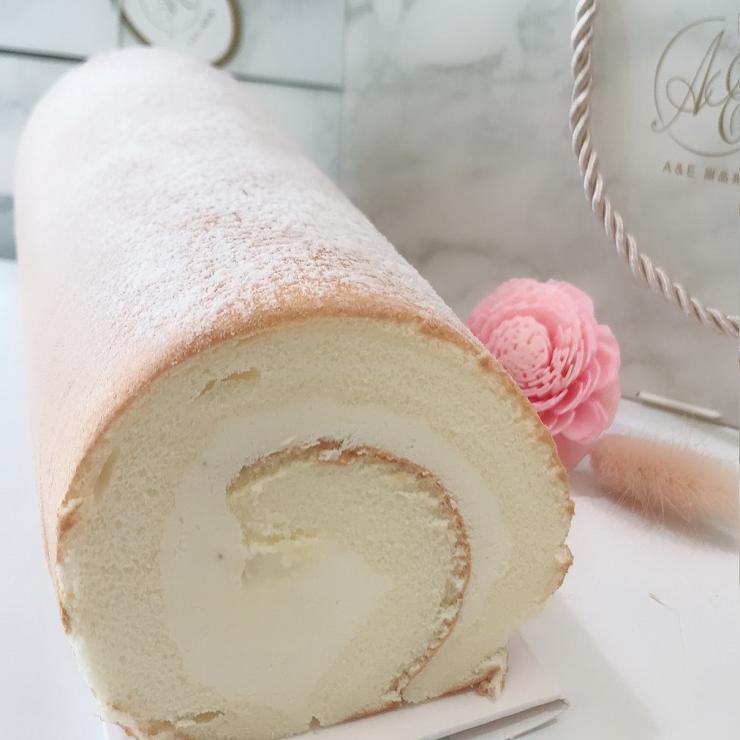 原味生乳布蕾捲 日本北海道奶霜 下午茶甜點 人氣團購美食 辦公室團購 重量:410g(10g)