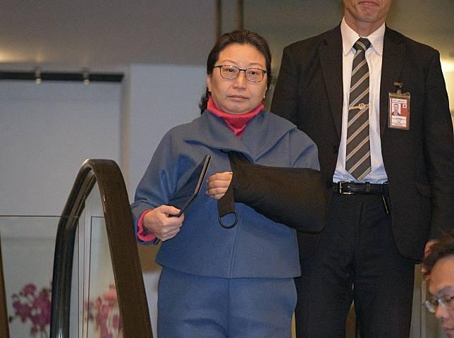 鄭若驊於本月3日返港。資料圖片