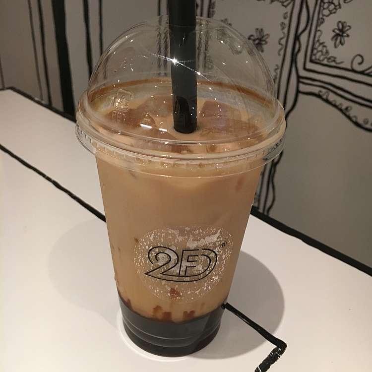 ユーザーが投稿した黒糖アッサムミルクティータピオカの写真 - 2DCAFE 新大久保,ツーディーカフェ シンオオクボテン(百人町/カフェ)