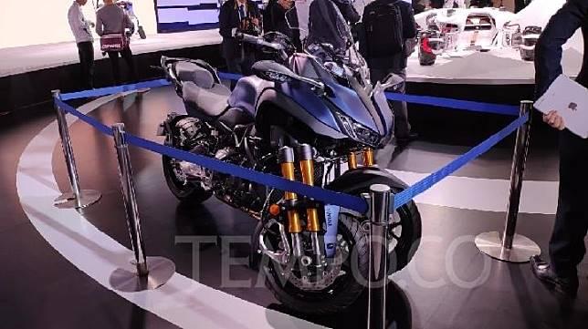 Yamaha Niken GT 2020 cocok untuk perjalanan jauh. TEMPO/Wawan Priyanto