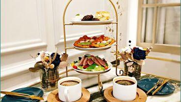 《松山網美餐廳推薦》好友聚會在驚豔的歐式下午茶/品味精緻雙人下午茶套餐/松山早午餐美食推薦/『米食林 Ms.Lin Cafe』