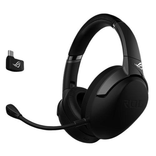 *買就送ROG 耳機架 * 活動時間:3/27~4/30*低延遲 2.4 GHz 無線連線可透過 USB-C™ 轉接器用於手持模式的任天堂 Switch™、智慧型裝置、PC、Mac 及 PS4,另有適