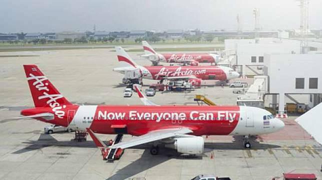 Maskapai penerbangan AirAsia. [shutterstock]