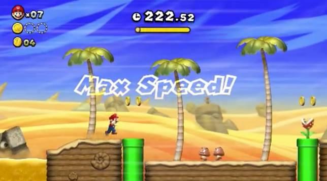 除了關卡模式,玩家也可以進行速度挑戰賽。