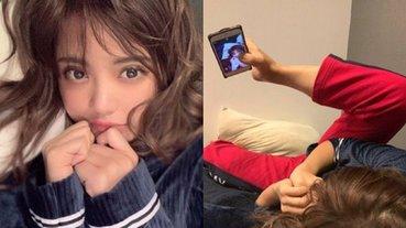 女孩自拍「理想 VS 現實」搞笑對比照竄紅,毫不顧忌的扮醜外表下卻有著勵志故事!