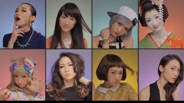 資生堂「化妝廣告」嚇壞網友 男生驚呼:女人果然是怪物!