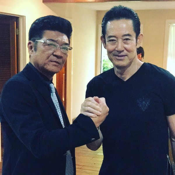 山下真司と小沢仁志