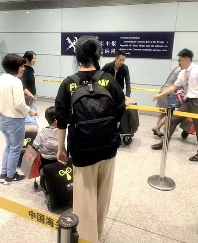 大S一家四口去咗北京。