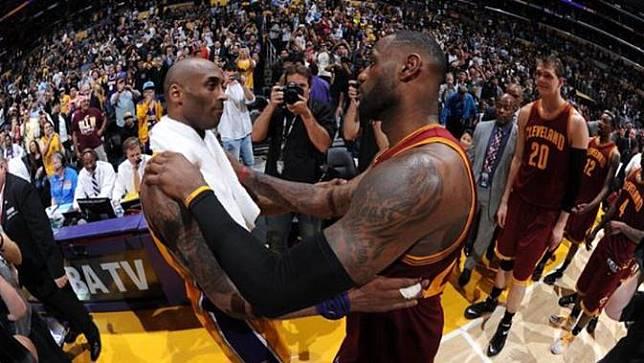 Kobe Bryant dan LeBron James