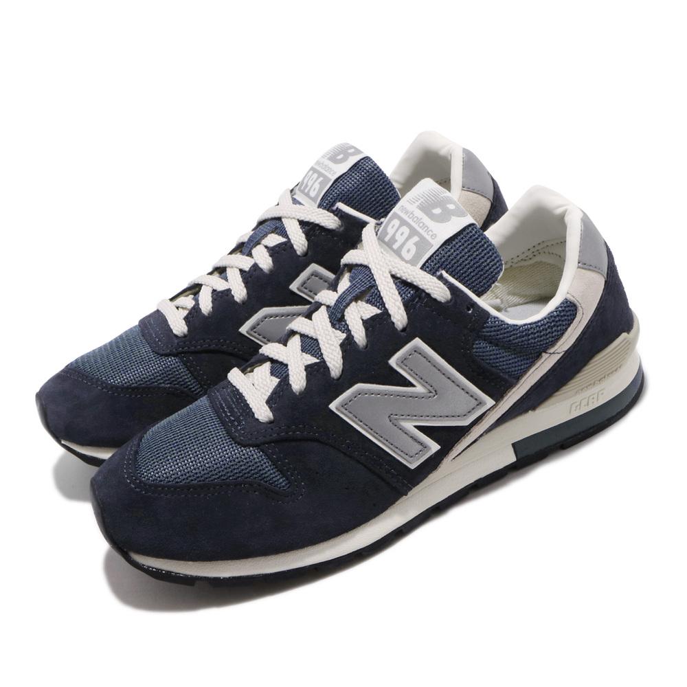NEW BALANCE 休閒鞋 CM996GND 運動 男鞋 紐巴倫 經典款 麂皮 簡約 穿搭 藍 銀 [CM996GND]