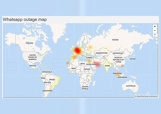 有監察網站顯示全球多個用戶壞機的報告。