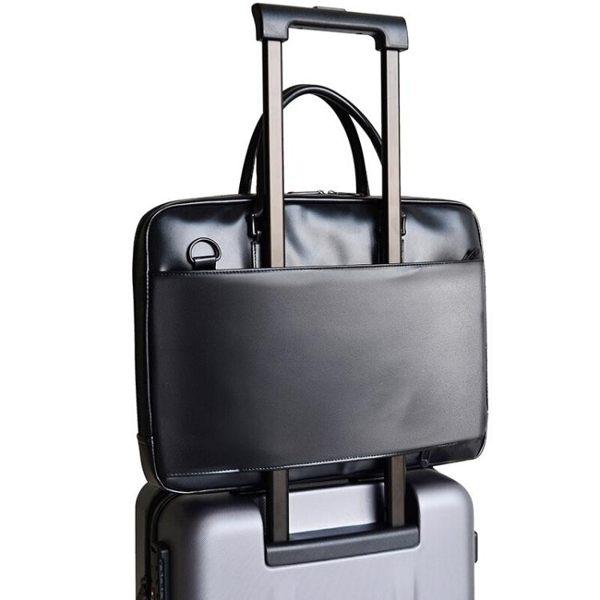 聯想T300筆記本手提14單肩包15.6英寸簡約辦公商務男女電腦包【15.6英寸游戲本不適合】