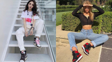 【火客】女生穿起 AJ 1,男生全都受不了!盤點 4 雙「最適合女生」的 Air Jordan 1,看小姊姊們怎麼穿?