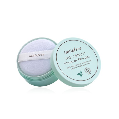 innisfree 無油光天然薄荷礦物控油蜜粉(5g) 全新正品/韓國貨