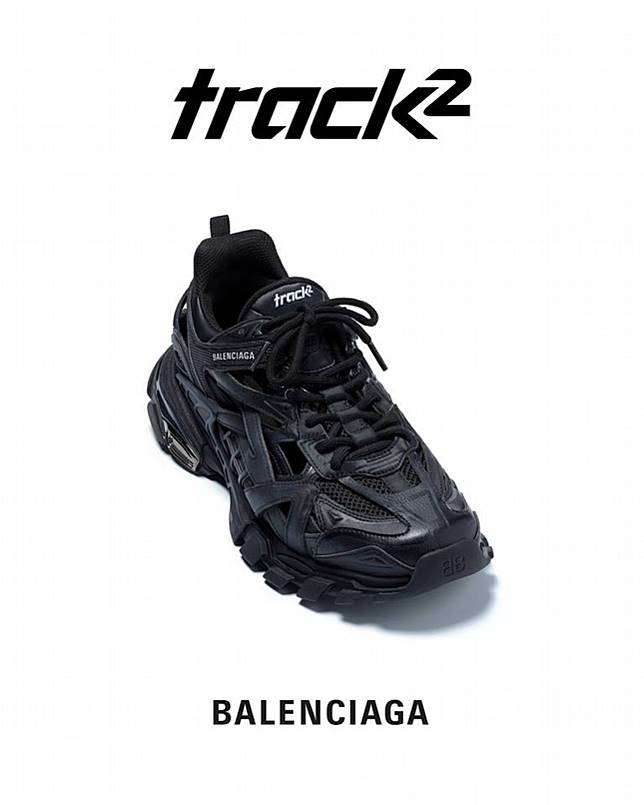Balenciaga Track 2 On Foot YouTube