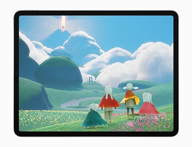在《Sky: Children of the Light》,玩家要在一個奇幻王國中飛越風景如畫的大地,帶領天人們回歸天堂。(互聯網)