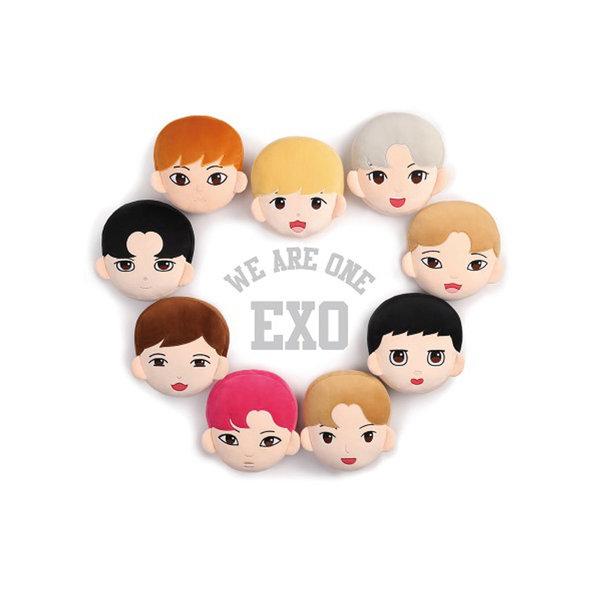 [K-POP] EXO Q版成員靠墊